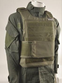 Swiss Arms Ensemble gilet light vest in olive green