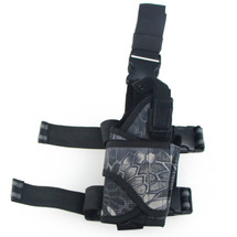 BV Tactical Leg Holster in Kryptek Typhon Camo