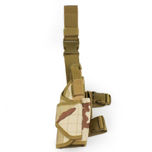 BV Tactical Leg Holster in Three Desert