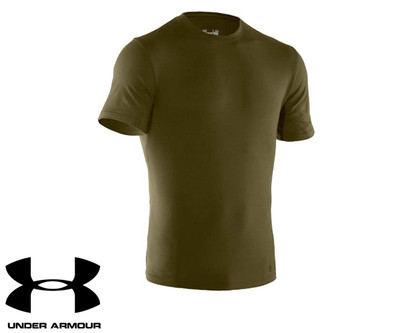 Under Armour Charge Cotton Olive T-Shirt