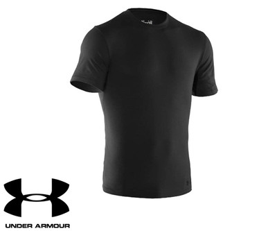 Under Armour Charge Cotton Black T-Shirt