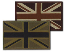 Velcro Union Jack Flashes