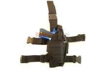 TX Drop Tactical Leg Holster In Black