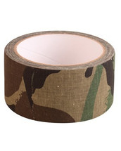 Kombat Fabric Tape in Woodland Camo 8mt x 50mm