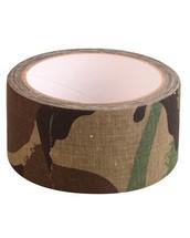 Kombat Fabric Tape in Woodland Camo 8mt x 50mm