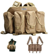 SWISS ARMS CHEST RIG VEST IN TAN
