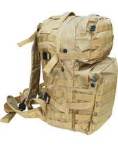 Medium Assault Pack 40 Litre in coyote