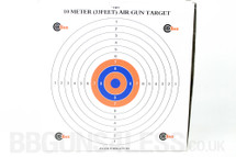 SMK Air Riffle  Card Target - 10m (33ft) 100pc 17cm