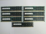 56GB (7x 8GB) Hynix HMT31GR7CFR4C-PB PC3-12800R DDR3 Server Memory C-5