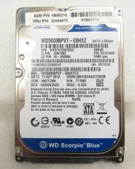 """IBM Western Digital 04W4073 WD5000BPVT 5.4K 500GB 2.5"""" SATA Hard Drive 35-4"""