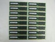 256GB (16x 16GB) Samsung M393B2G70BH0-CK0 16GB 2RX4 PC3-12800R DIMM Memory B-3