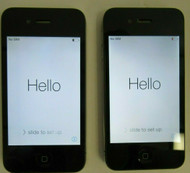 Lot of 2 Apple iPhone 4 Black 16Gb A1332 GSM 77-3