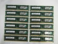 96GB (12x 8GB) Samsung M393B1K70CH0 8GB PC3-10600R DIMM Memory C-2