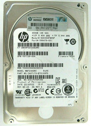 507129-004 HP 300GB 10000RPM SAS 6Gbps Dual Port Hot Swap 2.5-inch HDD 61-3