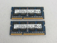 Lot of 2 8GB HMT41GS6BFR8A PB Hynix PC3L 12800S DDR3 1600MHz A-13