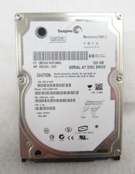 "HP Seagate Momentus 395294-003 ST9120821AS 5.4K 120GB  2.5"" SATA Hard Drive B19"