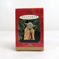 Hallmark Lucasfilm New Vintage Keepsake 1997 Star Wars Yoda Handmade  63-2