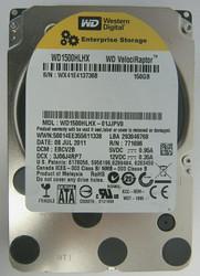 WD1500HLHX-01JJPV0 Western Digital VelociRaptor 150GB SATA 3.5 inch HDD 59-4