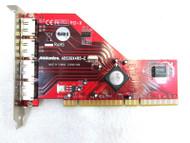 Addonics ADS3GX4R5-E 4-Port eSATA II RAID5/JBOD PCI-X Controller Card 62-3