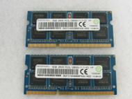 16GB 2x8GB RMT3160EB68FAW-1600 Ramaxel PC3-12800 DDR3-1600MHz SoDimm 204-Pin B13