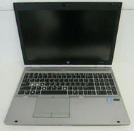 "FOR PARTS HP Elitebook 8570P 15"" i7-3520M 2.9GHz NO battery, HDD, RAM 8-3"