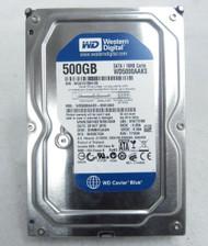 """Western Digital Caviar Blue WD5000AAKS 7200RPM 500GB 3.5"""" Hard Drive 7-3"""