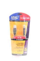 """Belkin F3U133-20INCH USB2 Hi-Speed USB Cable 20"""" Type A Type B New 30-1"""