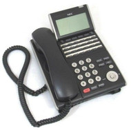NEC DT300 DTL-24D-1 (BK) TEL 24-Line Business Display Phone Handset & Stand 74-5