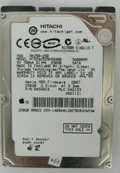 Apple Hitachi 250GB HDD 5400RPM  0A54916 HTS542525K9SA00 74-3