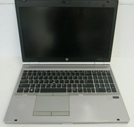 "FOR PARTS HP Elitebook 8570P 15"" i7-3520M 2.9GHz NO battery, HDD, RAM 3-4"