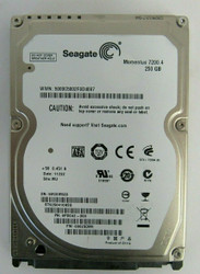"9PSG42-300 Seagate ST9250410ASG 250GB SATA 3Gbps 16MB 2.5"" HDD 37-4"