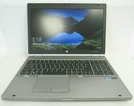 HP EliteBook 8570p Intel i7 16GB DDR3 1600 x 900 256GB SSD Windows 10 Pro