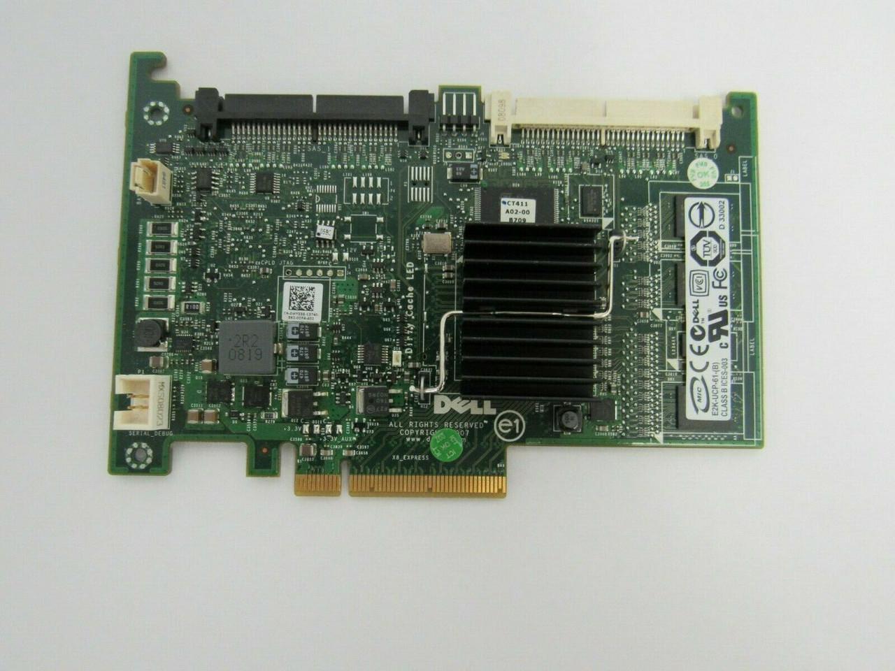 DELL  PERC 6i SAS RAID Controler 0T954J T954J DELL POWEREDGE SERVER