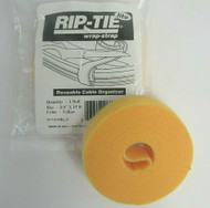 "Rip-Tie Lite Wrap-Strap W-15-MRL-Y Reusable Cable Organizer 3/4"" x 15ft 19-4"