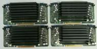 LOT OF 4 Dell PowerEdge R900 0R587G R587G Memory Riser Board 45-4