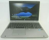 HP EliteBook 8570p Intel i7 16GB DDR3 1600 x 900 256GB SSD Windows 10 Pro 9-4