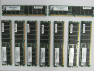lot of 9 PC2100 Compliant  DDR256X72R266184VI PC2100R-2533-0-Z 116129573 74-4