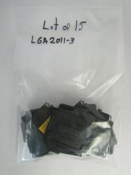 Lot of 15 FOXCONN/LOTES LGA2011-3 Intel CPU Socket Protector Cover 35-1