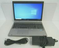 HP EliteBook 8570p Intel i7 16GB DDR3 1600 x 900 256GB SSD Windows 10 Pro 19-4