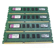 Kingston KVR1333D3E9S/1GI (4x1GB) PC3-10600E ECC RAM Memory A10