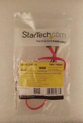 """StarTech SATA18POW 18"""" SATA Serial ATA Data and Power Combo Cable 2-4"""