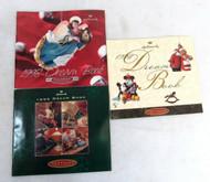 Lot of 3 Hallmark 1995 1996 1998 Dream Book Catalogs 63-2