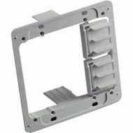 Box of 10 Erico Caddy MPAL2 Plastic Low Voltage Mounting Plate 2 Gang SW