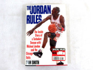 The Jordan Rules By Sam Smith 1992 Hard Cover 63-2