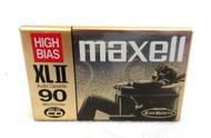 Maxell High XL II 90 Minute/ 135M Blank Audio Cassette 63-3