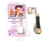 1992 USPS Elvis Presley Commemorative Stamp Squared Wrist Watch w/ Tag 63-2
