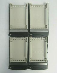 LOT of 4 Supermicro MCP-220-00047-0B SAS/SATA 2.5 Inch Hard Drive Trays 28-5