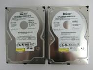"""LOT OF 2 Western Digital WD1600JS WD1600JS-00SGB0 160GB 3.5"""" 7.2K SATA HDD 13-3"""