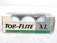 Sleeve of 3 Spalding Top Flite XL Regular Trajectory Golf Balls 75-2