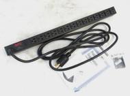 APC 14 Outlet Rack Power Distribution Unit AP9551 66-6